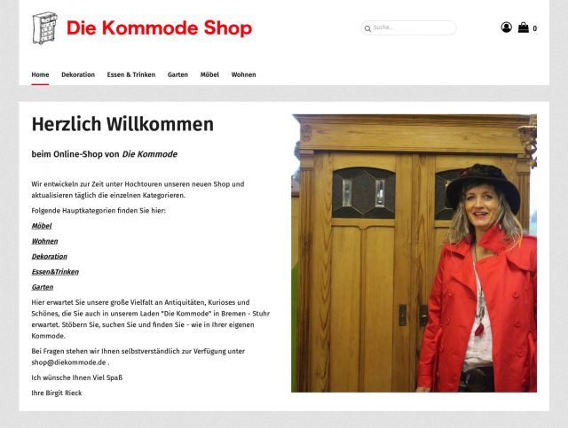 Antik Laden Shop in Bremen Die Kommode